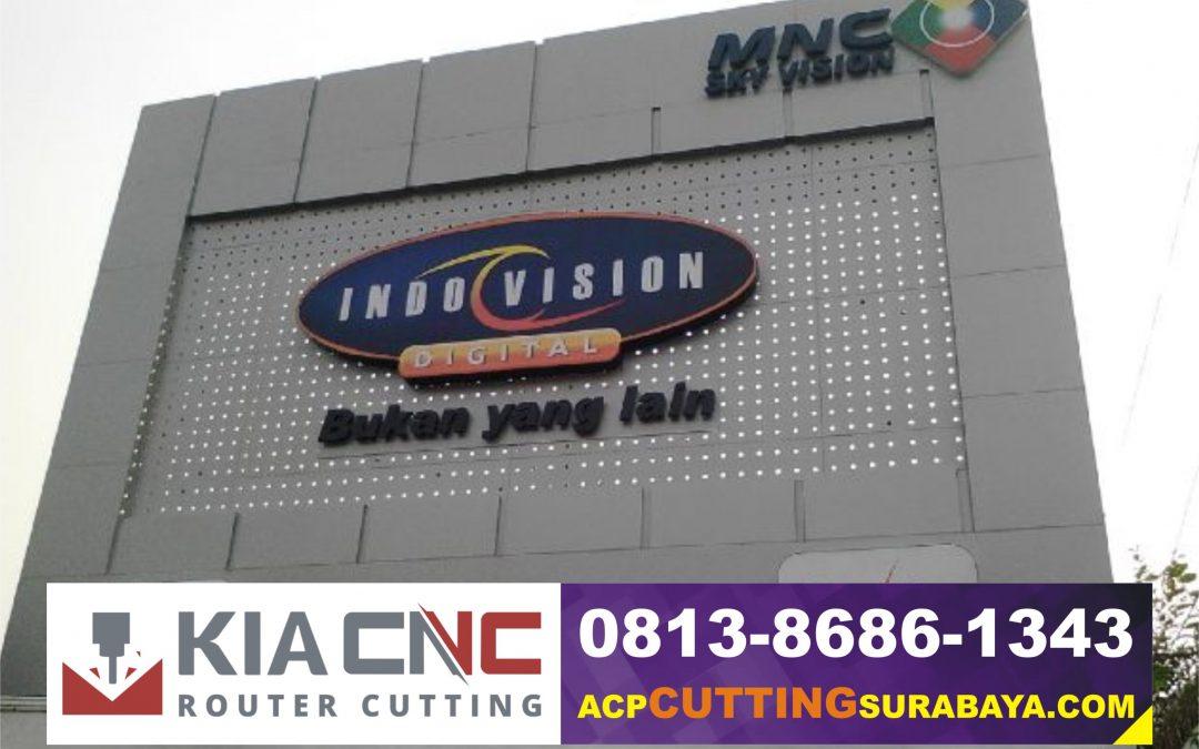 Jasa CNC Cutting Router ACP Mojokerto