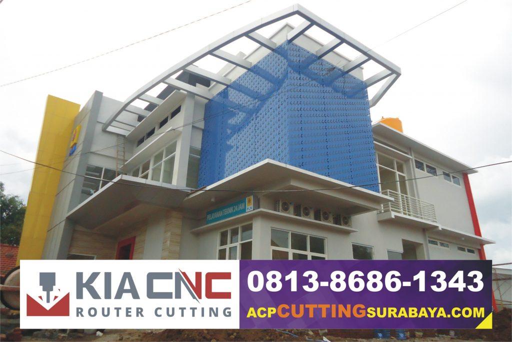 kontraktor acp seven surabaya, jasa cutting acp surabaya, jasa fasad gedung surabaya