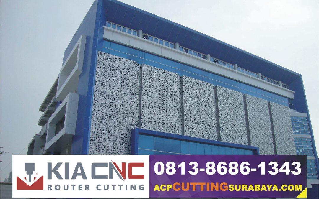 Jasa CNC Cutting Router ACP Sidoarjo