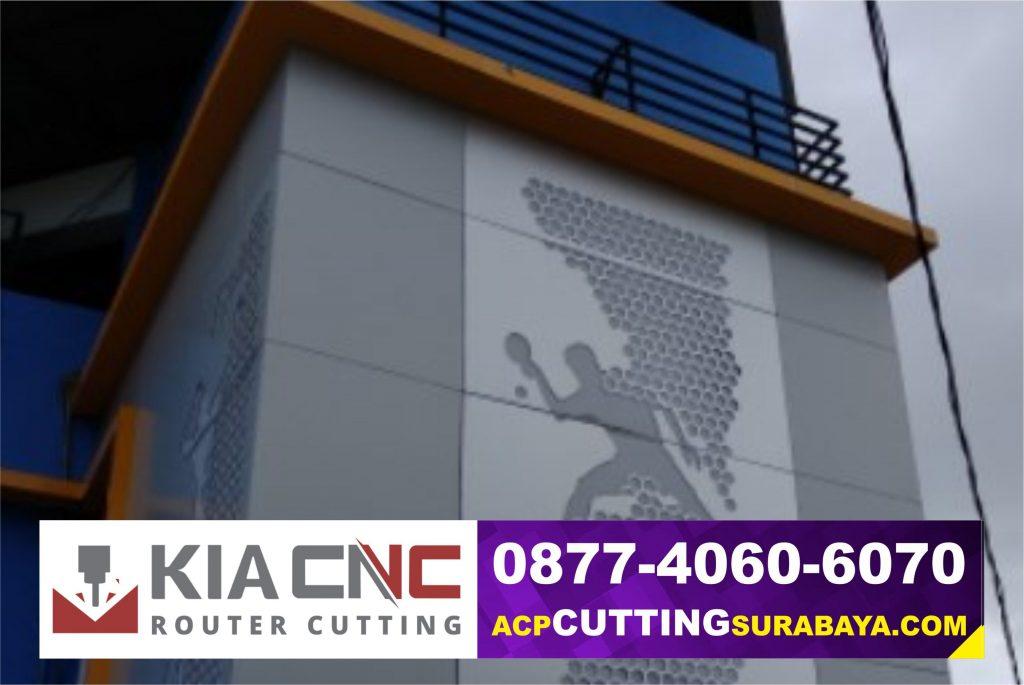 fasad bangunan pasuruan, acp router pasuruan, acp cutting pasuruan